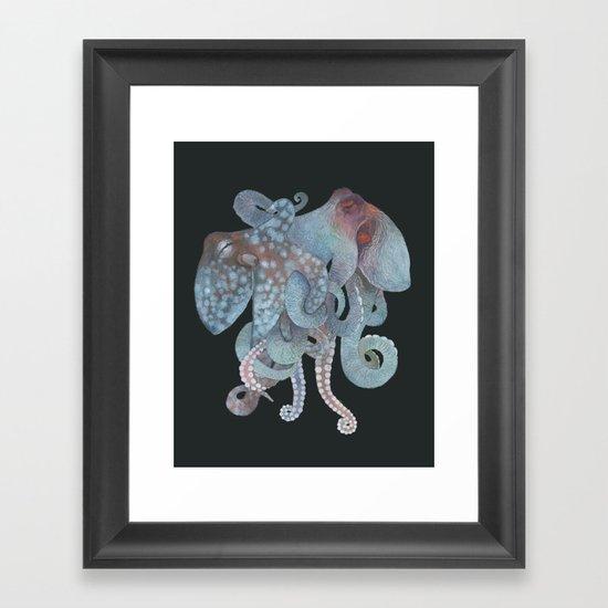 Tangled No. 1 Framed Art Print