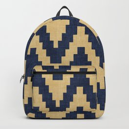 Twine in Blue and Gold Backpack