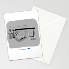 Is It Raining? Stationery Cards