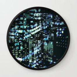 City Never Sleeps 2 Wall Clock