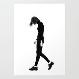 Corrie 1 Art Print