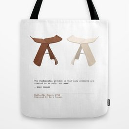 Butterfly Stools Tote Bag