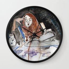 Contemplative Bitch  Wall Clock