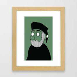 Grizz Framed Art Print