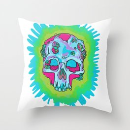 Barnacle Dead Throw Pillow