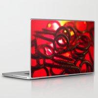 hook Laptop & iPad Skins featuring Hook Eye by Gary Lee Hutchings