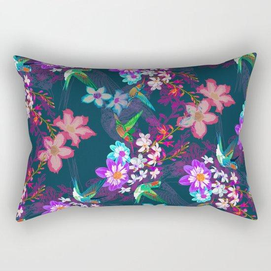 A low hum Rectangular Pillow