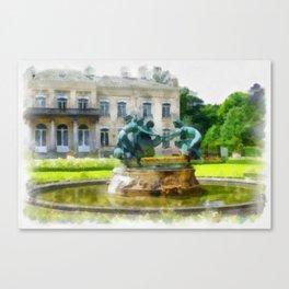 Castle Den Brandt Canvas Print