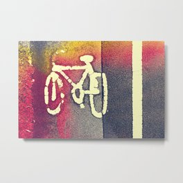 Cycle Path 01A (everyday 29.01.2017) Metal Print