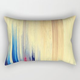 Pixel Sorting 123 Rectangular Pillow