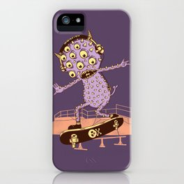 Hipster Monster iPhone Case