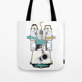 Induction Stroke Tote Bag