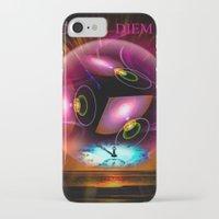 carpe diem iPhone & iPod Cases featuring Carpe Diem by Walter Zettl