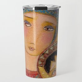 Our Lady of Perpetual Help by Flor Larios Travel Mug