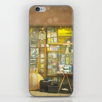 record iPhone & iPod Skins featuring Record Store by Cassia Beck