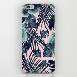 Tropical Jungle Leaves Dream #2 #tropical #decor #art #society6 iPhone Skin