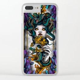 Medusa Clear iPhone Case