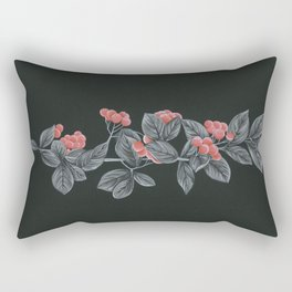 Black Pages II Rectangular Pillow