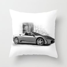 Ferrari F430 Throw Pillow