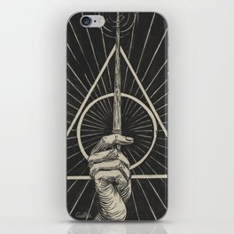 Elder Wand iPhone Skin