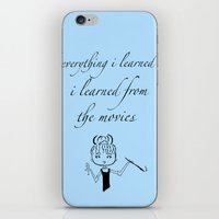 movies iPhone & iPod Skins featuring The Movies... by Jaclyn Celeste