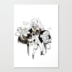 Paris Riots Canvas Print