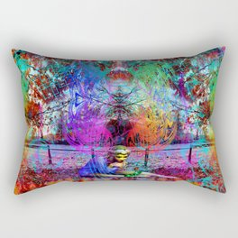An Early Visit From The Frost Fairy (autumn) Rectangular Pillow