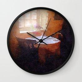 Tea Shop Wall Clock