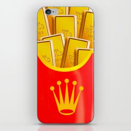 Rollie Chips iPhone Skin