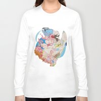 drunk Long Sleeve T-shirts featuring Drunk Painting by Kim Leutwyler