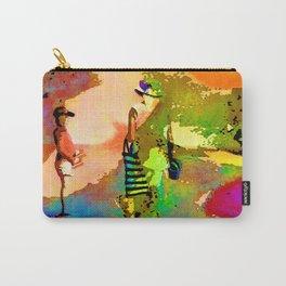 jardin multicolore Carry-All Pouch