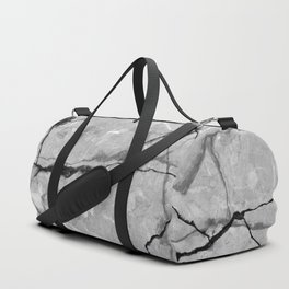 Cracked marble Duffle Bag