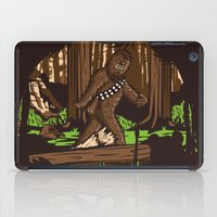 bigfoot iPad Cases featuring The Bigfoot of Endor by Hoborobo