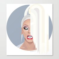 rupaul Canvas Prints featuring Humble Gal by Dezignjk (Justin Kohout)