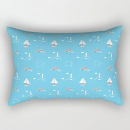 Jim pattern Rectangular Pillow