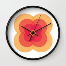 MCM Primula Wall Clock