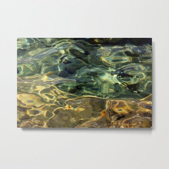Water surface (3) Metal Print