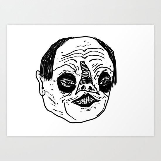 Phantomb Art Print