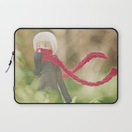 Red Scarf Laptop Sleeve