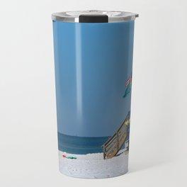 Siesta Key Lifeguard Station Travel Mug