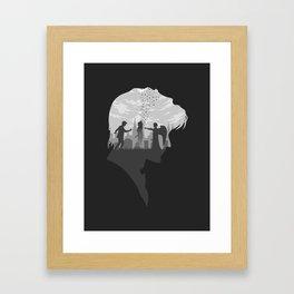 Goodbye Raggedy Man (Alternate) Framed Art Print