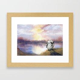 Companion Sheep Framed Art Print