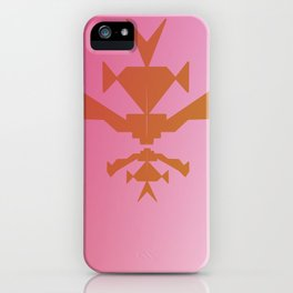 gol jungle element on pink iPhone Case