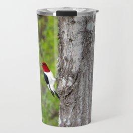 Red-headed Woodpecker Travel Mug