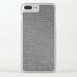 InsideSounds 116 Clear iPhone Case