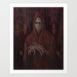 The One Who Waits Art Print