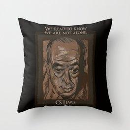 C. S. Lewis Throw Pillow