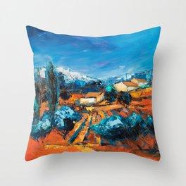 Sulla Collina Throw Pillow