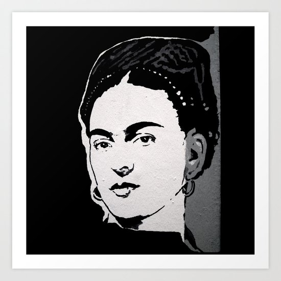 FRIDA - LIFE CURRENT WALL series... Art Print