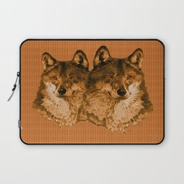 Season of the Wolf - Duet in Gold Laptop Sleeve
